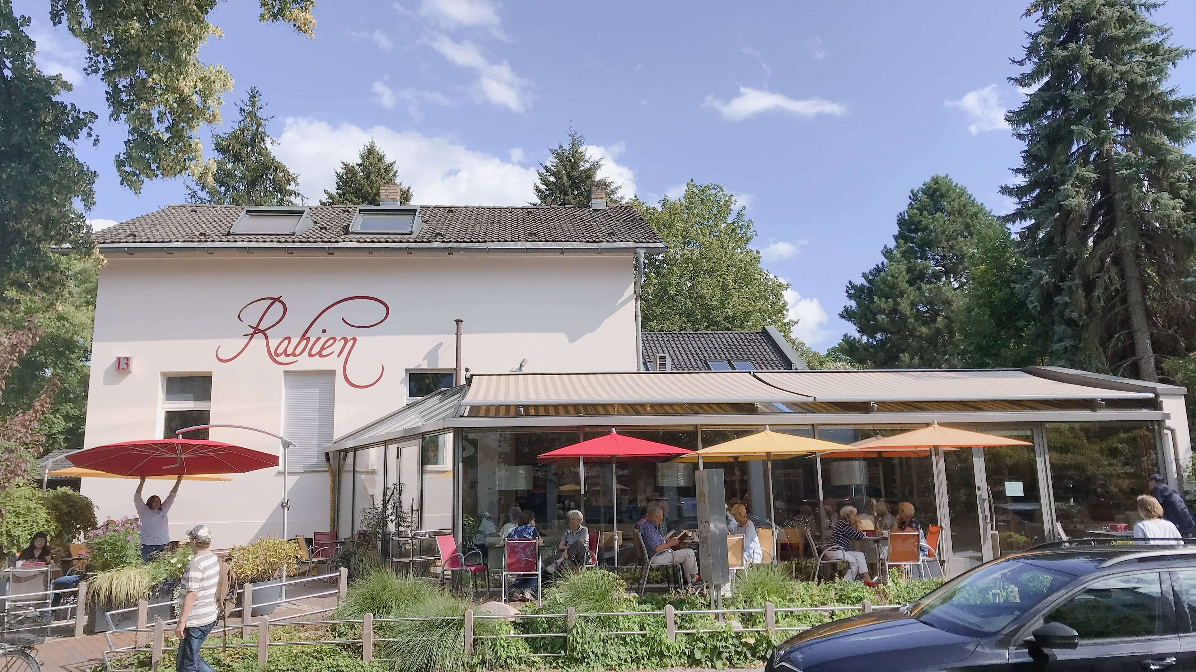 本場のバウムクーヘンが食べたい!ベルリン郊外の老舗『Rabien』に行ってみたよ